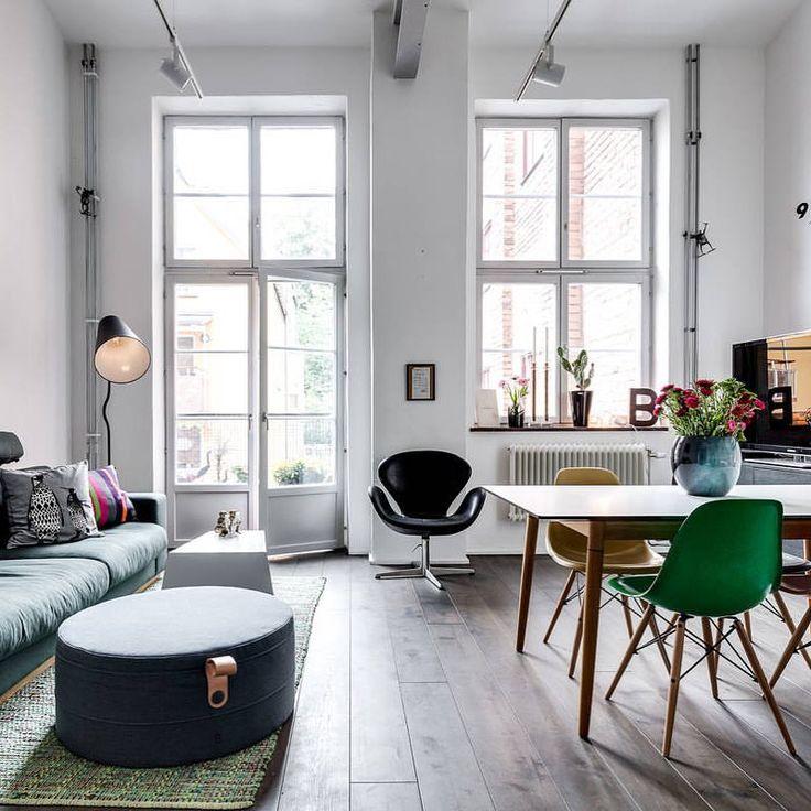 524 best Interior images on Pinterest Apartment design, Attic - innendesign aus polen femininer note