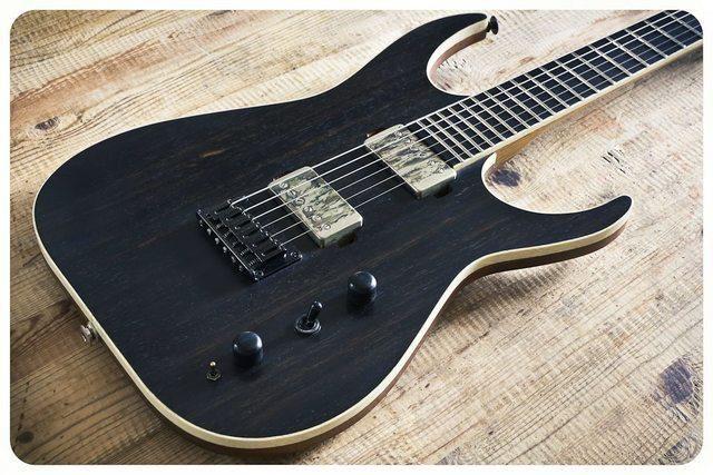 black machine guitars
