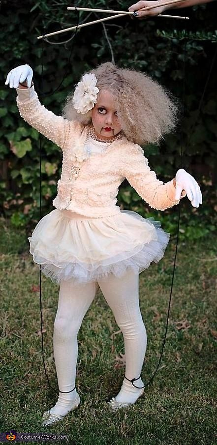 I would think you make a boy verson and you can keep your child close to you all the time! Marionette Doll - Homemade Halloween Costume