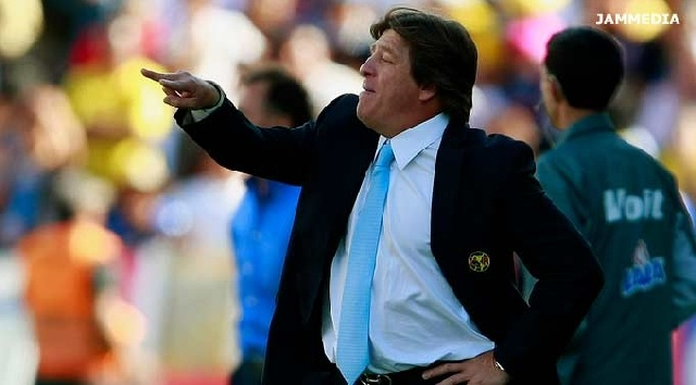 Miguel Herrera, técnico del América, quiere terminar el torneo con el liderato de la Tabla #america #futbol mexicano