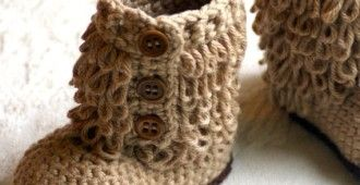 bebek örgü çizme http://www.bayanhobileri.com/