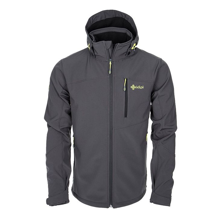 Men's softshell jacket KILPI - ELIO - grey