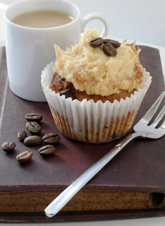 Caramel Latte Cup Cakes from My Secret Kitchen