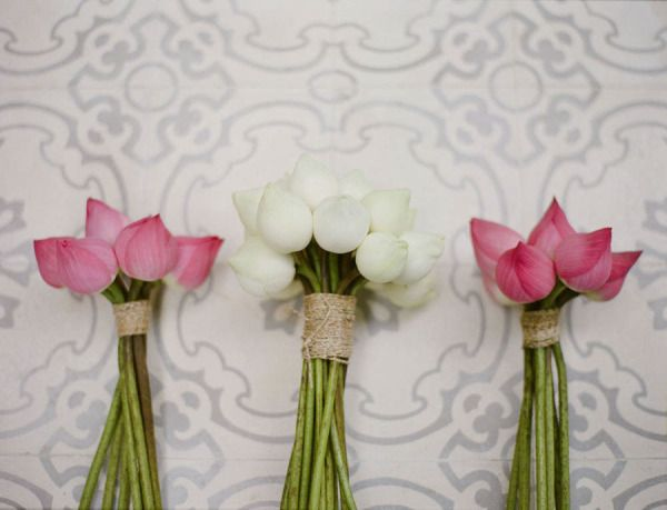 """Completely different type of bouquet.  Never thought of it.  """" Closed bouquets. Photography by zosiazacharia.com"""""""