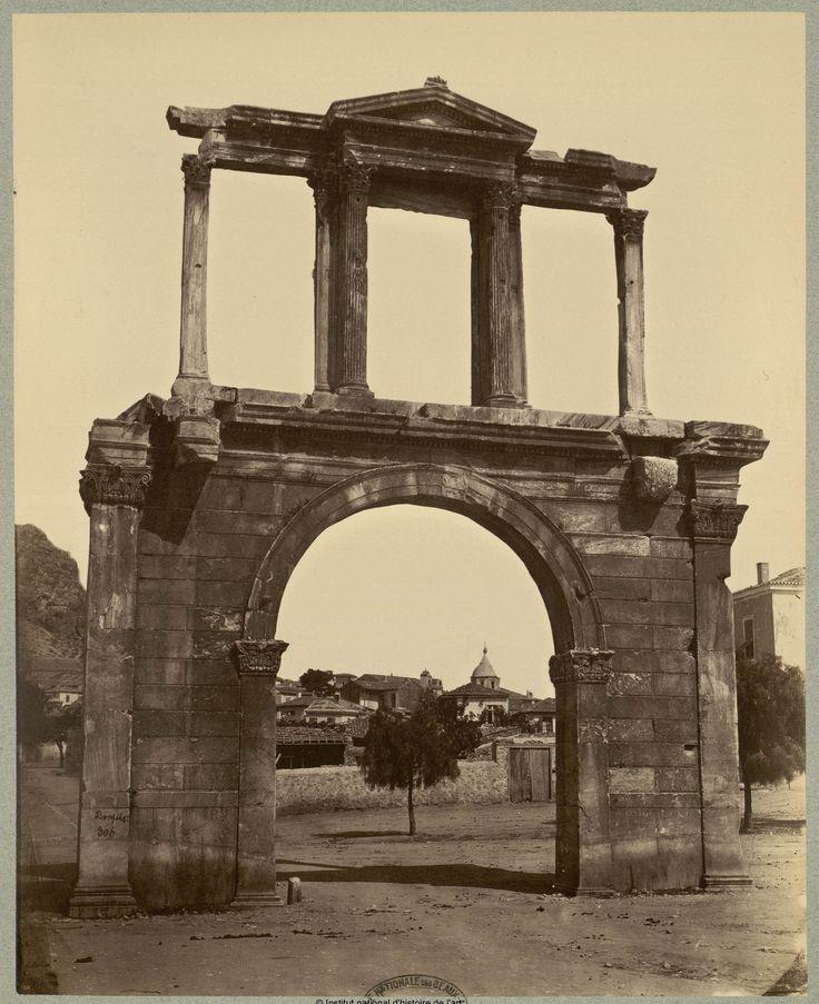https://flic.kr/p/S9ZvUw | Η Πύλη του Αδριανού |  Felix Bonfils, μεταξύ 1870 και 1880 bibliotheque-numerique.inha.fr/viewer/5105/?offset=#page=...
