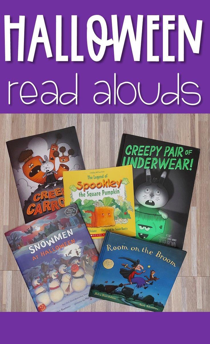 Halloween read alouds halloween read alouds read aloud