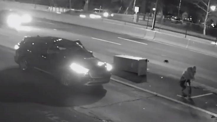 Vandal destroys Washington DC traffic camera