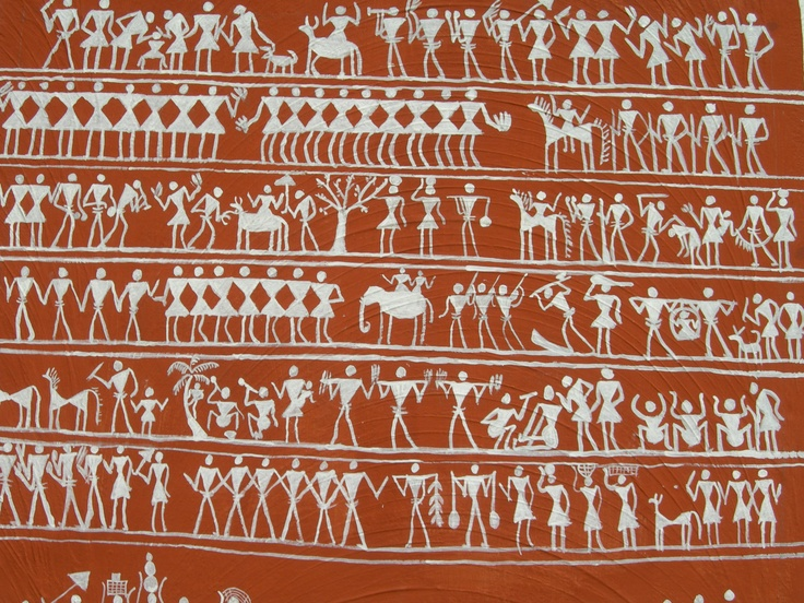 Tribal wall painting #Orissa #india #ourtravel