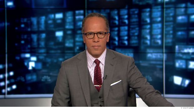 Lester Holt gets anchor chair in historic moment for black journalists