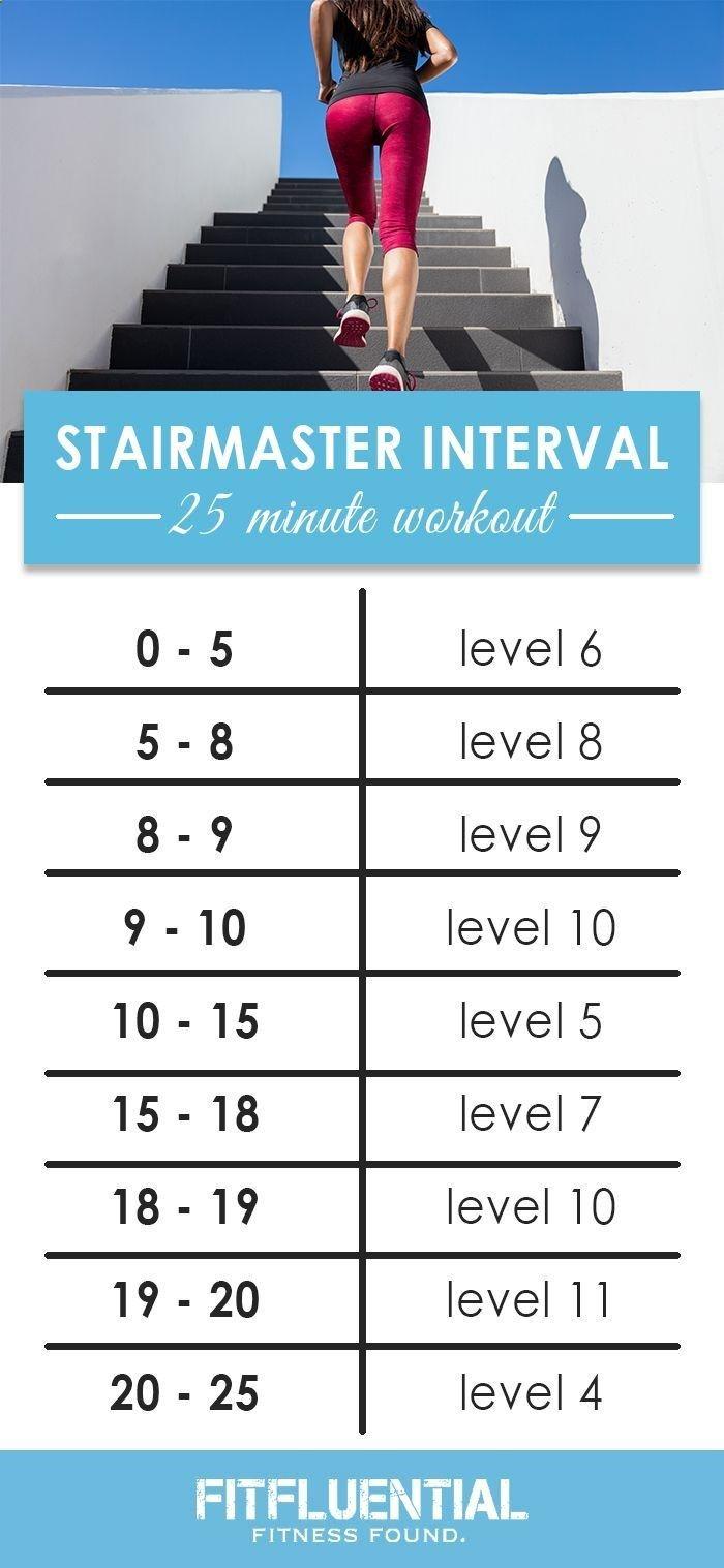 Best 25 Stairmaster Workout Ideas On Pinterest