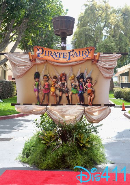 """Red Carpet Photos For Disney's """"The Pirate Fairy"""" Premiere March 22, 2014"""