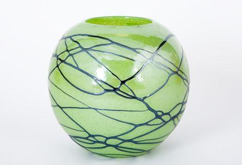 Wazon zielony 19cm http://witeks.pl/szklo-kolorowe-wazony