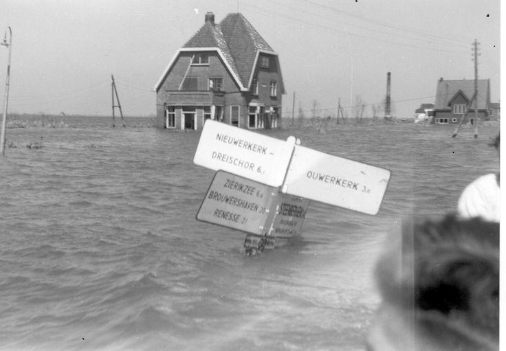 watersnoodramp 1953 Zeeland
