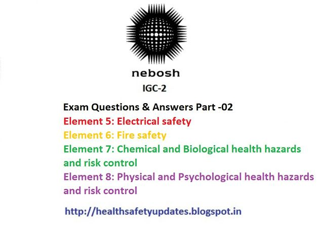 nebosh igc 2 questions and answers free download