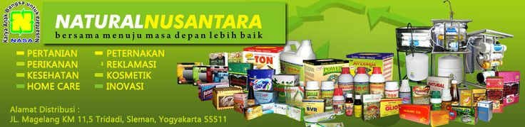 Distributor Resmi ber-ID PT. NASA Natural Nusantara.