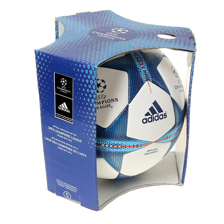 Adidas Champions League 2015-2016 Official Match Soccer Ball Size 5 S90230 | eBay