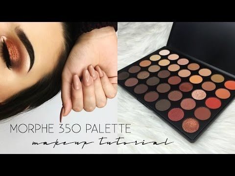 MORPHE 35O PALETTE | Makeup Tutorial - YouTube