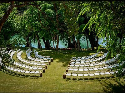 hey, this is exactly how i want the chairs, AND it's our venue!