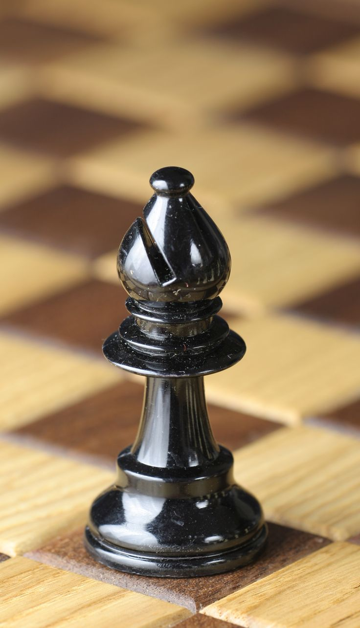 bishop chess pieces | Description Chess piece - Black bishop.JPG