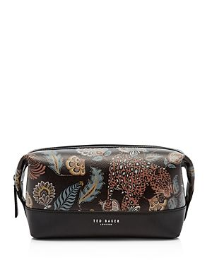 TED BAKER CLUBB PRINTED-LEATHER WASH BAG.  tedbaker  bags  leather ... 10cc0b1ed6676