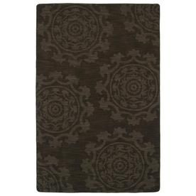 Kaleen Imprints Classic Chocolate Rectangular Indoor Handcrafted Southwestern Area Rug (Common: 8 X 11; Actual: 8-Ft W X
