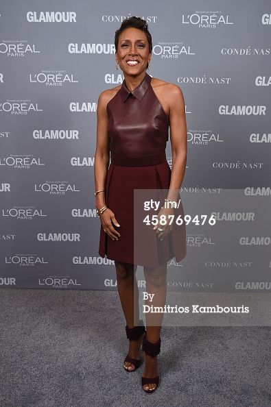 News Photo : Broadcaster Robin Roberts attends the Glamour...