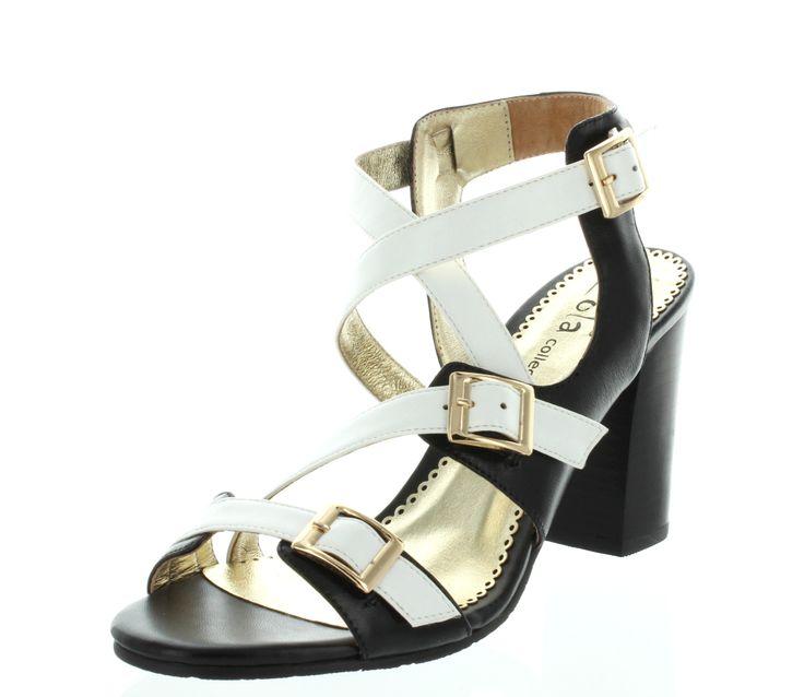 Cute Buckle heel, Helaku $139 New Summer arrivals 2014