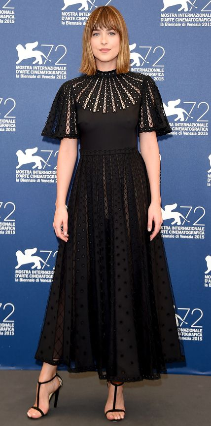 Look of the Day - September 04, 2015 - 'Black Mass' Photocall - 72nd Venice Film Festival from InStyle.com