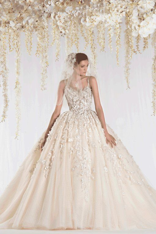 17 best ideas about elegant wedding gowns on pinterest for Ziad nakad wedding dresses prices
