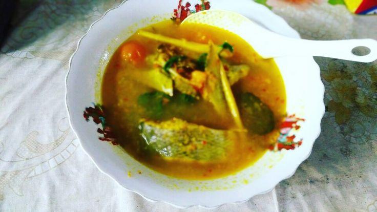 Ikan kuah kuning homemade
