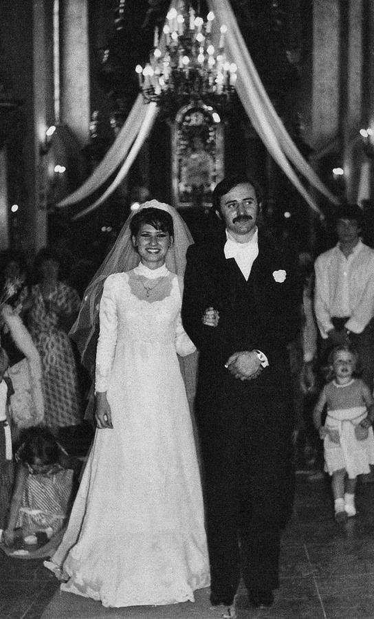 Beata Kozidrak i Andrzej Pietras, ślub (1980)