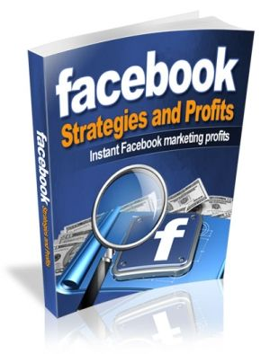 Facebook Strategies and Profits eBook offers strategies, tactics and tips from the professionals who know how to effectively get the most out of your Facebook presence http://boxrar.com/facebook-strategies-profits/
