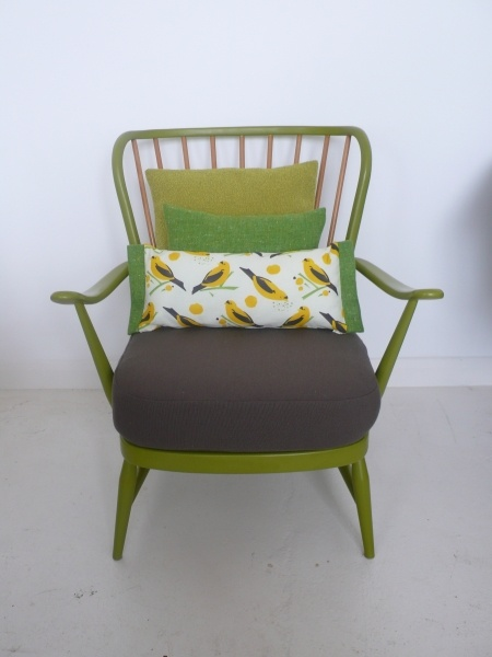 love this ercol chair in green. Real earthy