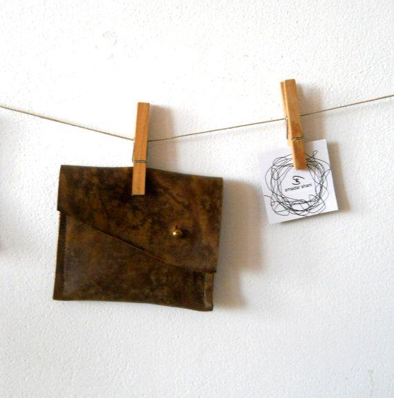leather wallet pocket