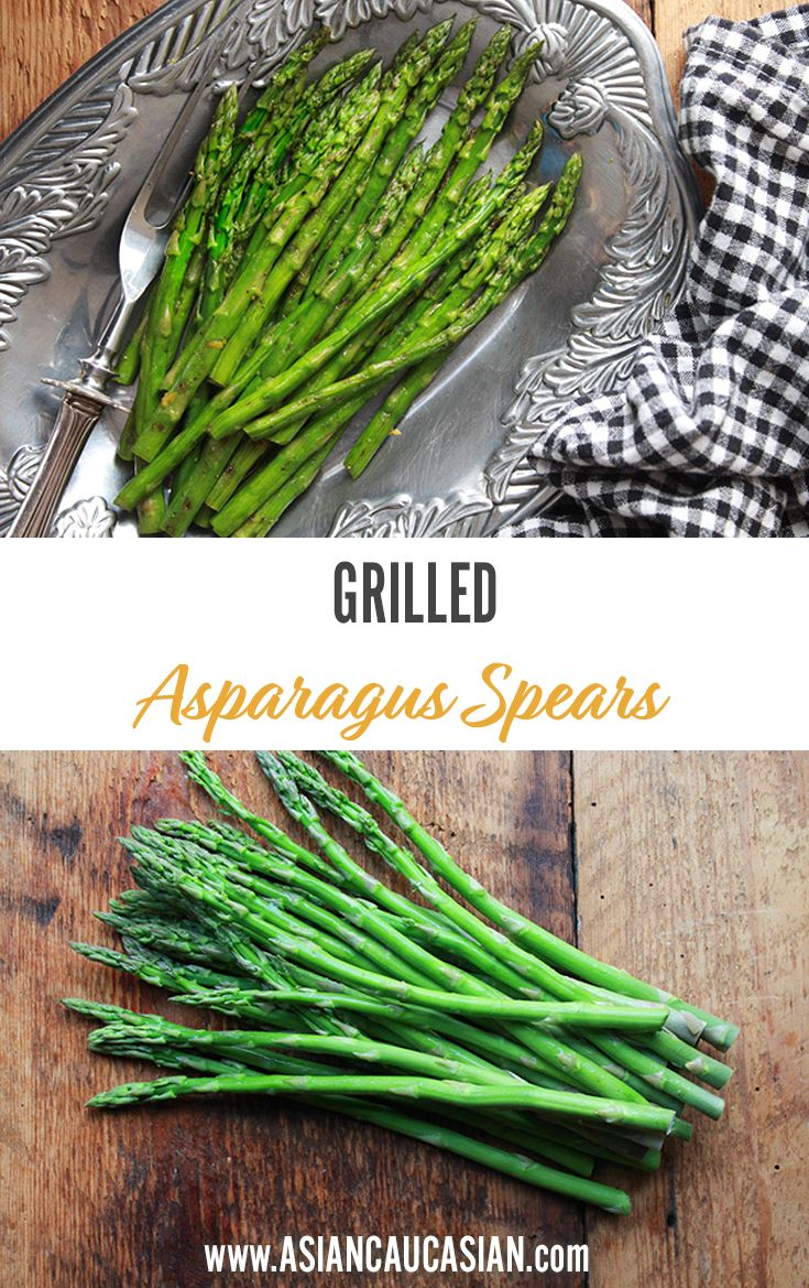 Easy Grilled Asparagus Spears