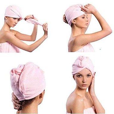 toalla+cabello+seco+velocidad+creativo+gorro+para+el+cabello+seco+(color+al+azar)+–+EUR+€+0.87