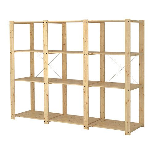 47 Best Display Shelf Configurations Images On Pinterest  sc 1 st  Credainatcon.com & Wood Storage Shelves Ikea | Credainatcon.com