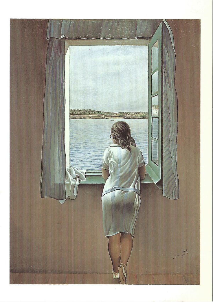 """""""Muchacha en la ventana"""", Salvador Dalí, Museo Nacional Centro de Arte Reina Sofía"""