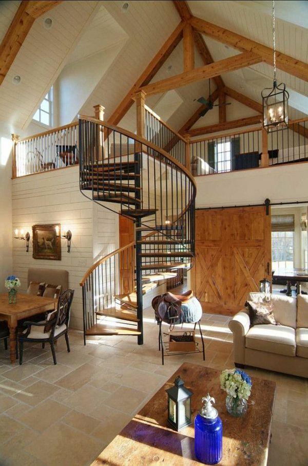 14 besten wendeltreppe Bilder auf Pinterest Treppen - welche treppe fr kleines strandhaus