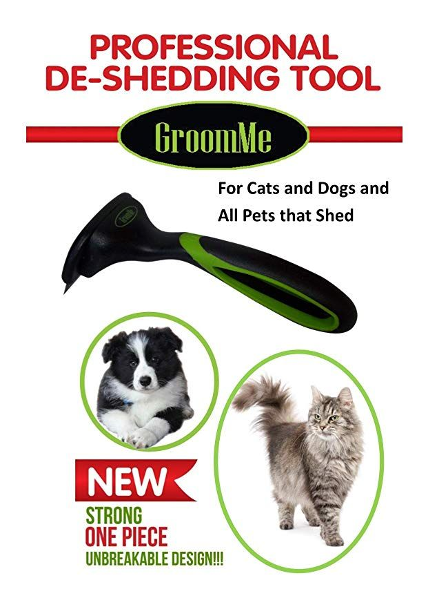 Amazon Com De Shedding Tool For Dog Cat Grooming The Secret To