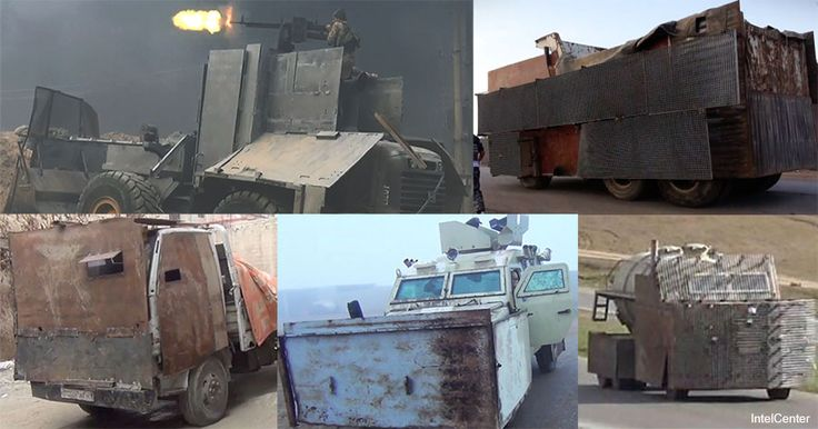 IntelCenter: Growing Jihadi Use of Improvised Armor on VBIEDs, Technicals & Other Vehicles