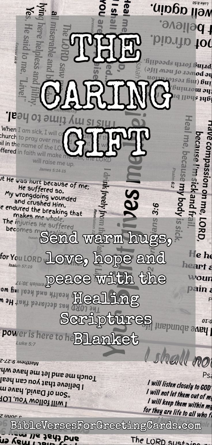 Healing Scriptures Blanket Christian Shops Products Bible