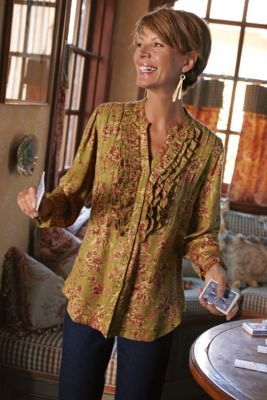 Botanical Blouse from Soft Surroundings