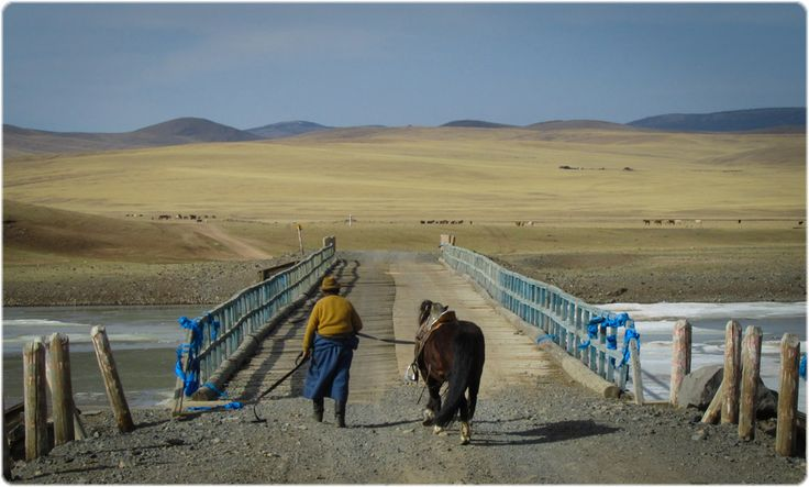 Mongolian Nomad returning home #Mongolia #Nomad #Horses #TravelPhoto #Landscapes