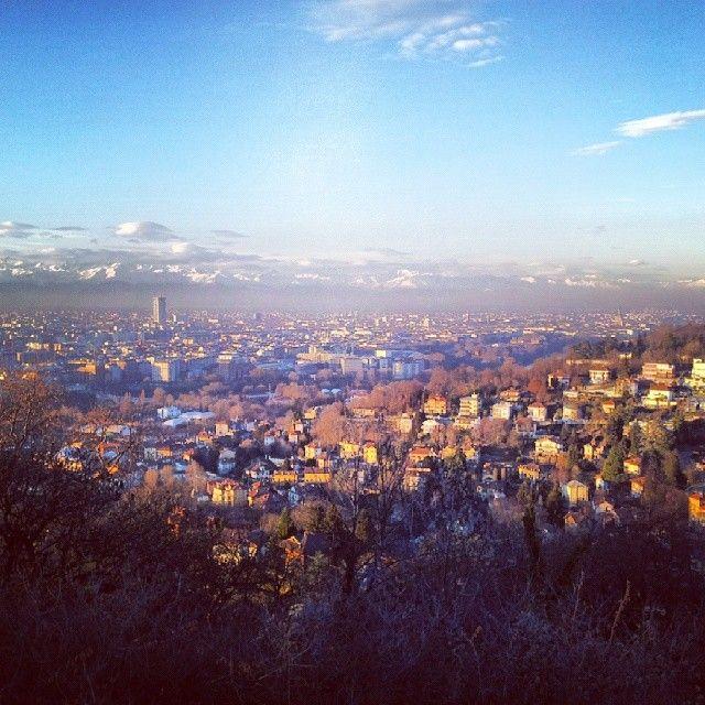 Torino vista dal parco Europa (Cavoretto)