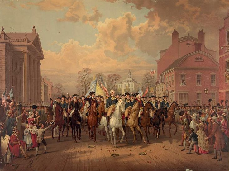 George Washington's Triumphal Entry into New York