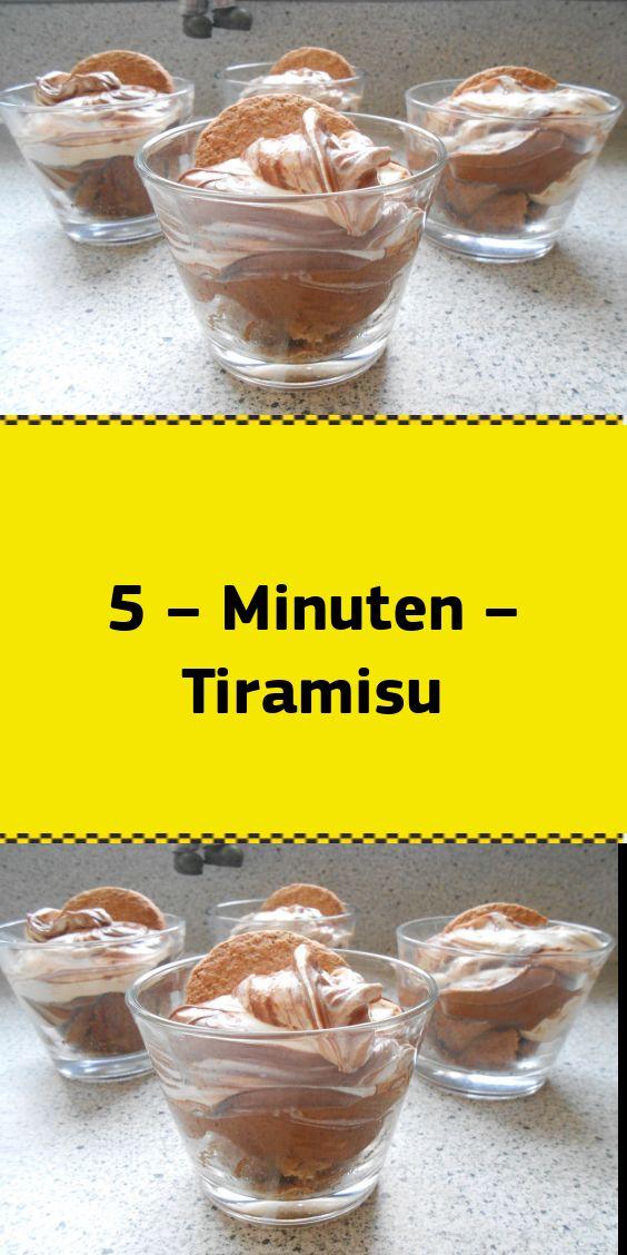 5 – Minuten – Tiramisu