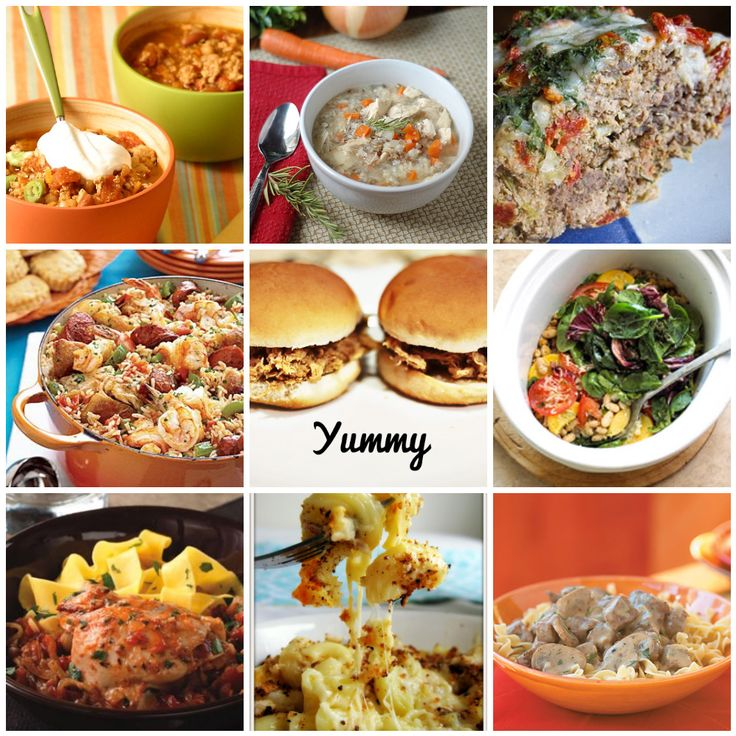 12 Hearty Fall Crockpot Recipes that leave out the Condensed Soup!