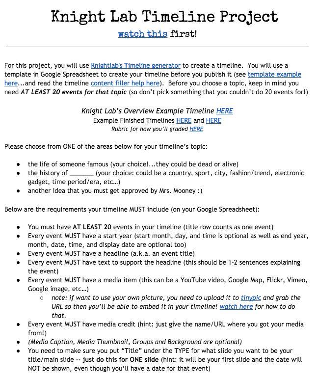 Best 25+ Timeline project ideas on Pinterest Timeline ideas - sample historical timeline