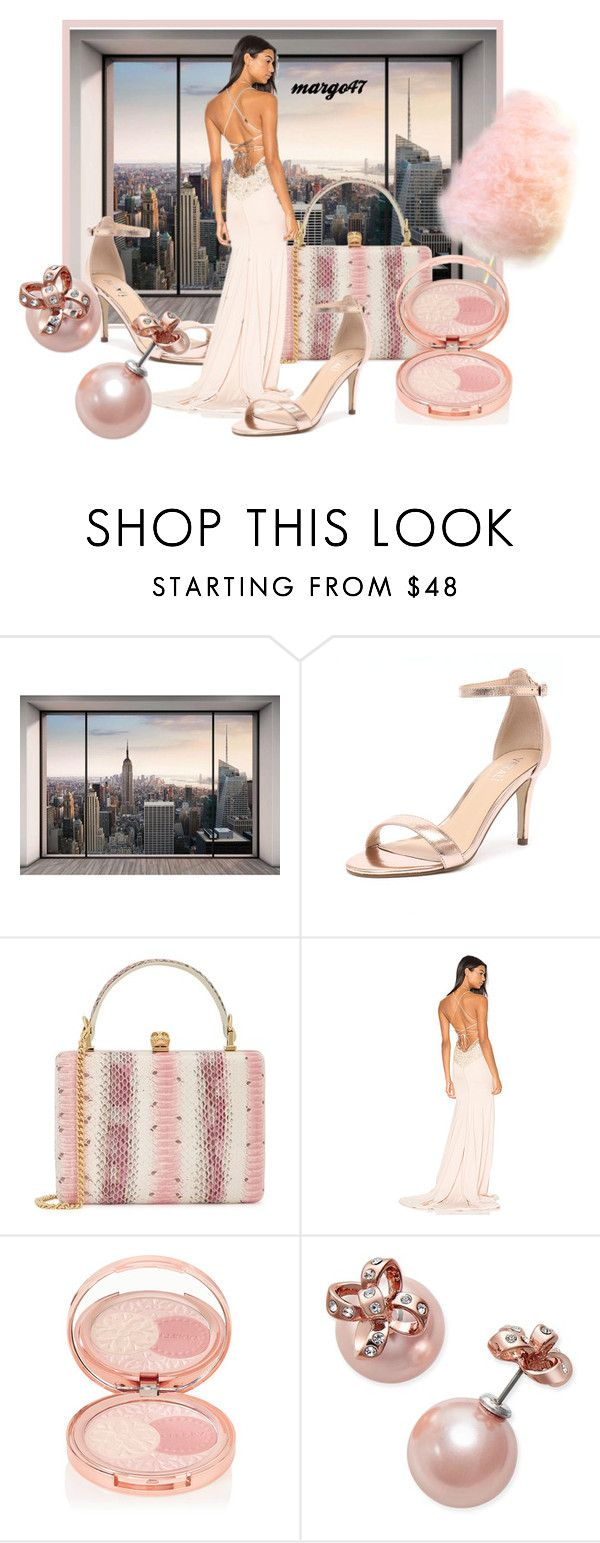 """""""cukrowa wata :)"""" by margo47 ❤ liked on Polyvore featuring Komar, Verali, Alexander McQueen, Gemeli Power, By Terry and Kate Spade"""